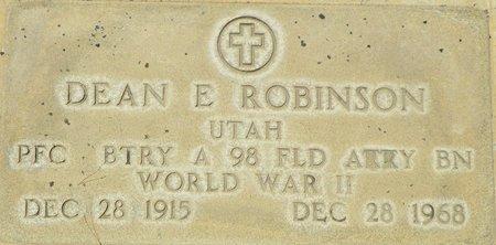 ROBINSON, DEAN E - Maricopa County, Arizona   DEAN E ROBINSON - Arizona Gravestone Photos