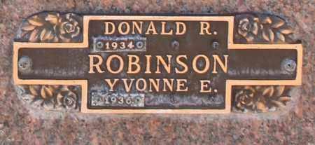 ROBINSON, YVONNE E - Maricopa County, Arizona | YVONNE E ROBINSON - Arizona Gravestone Photos