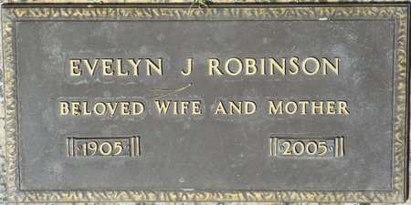 ROBINSON, EVELYN J - Maricopa County, Arizona | EVELYN J ROBINSON - Arizona Gravestone Photos
