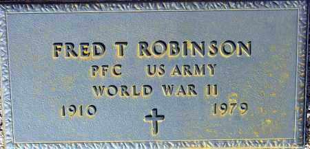 ROBINSON, FRED T. - Maricopa County, Arizona | FRED T. ROBINSON - Arizona Gravestone Photos