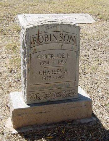 ROBINSON, CHARLES A - Maricopa County, Arizona   CHARLES A ROBINSON - Arizona Gravestone Photos