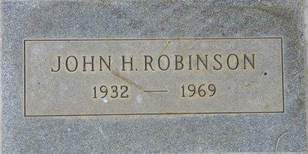ROBINSON, JOHN H - Maricopa County, Arizona | JOHN H ROBINSON - Arizona Gravestone Photos