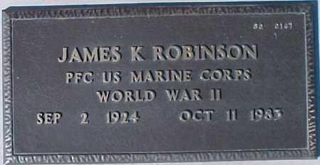 ROBINSON, JAMES K. - Maricopa County, Arizona | JAMES K. ROBINSON - Arizona Gravestone Photos