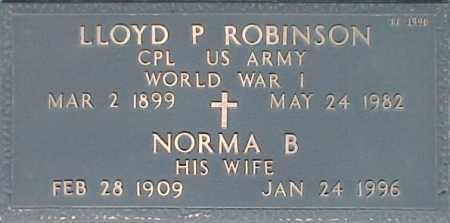 ROBINSON, LLOYD P - Maricopa County, Arizona | LLOYD P ROBINSON - Arizona Gravestone Photos