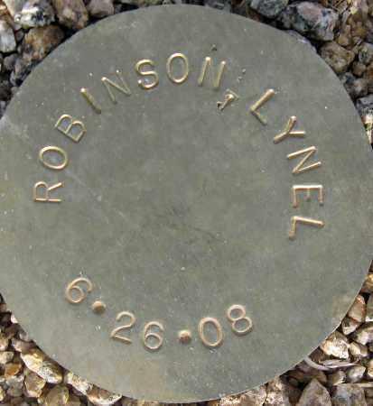ROBINSON, LYNEL - Maricopa County, Arizona | LYNEL ROBINSON - Arizona Gravestone Photos