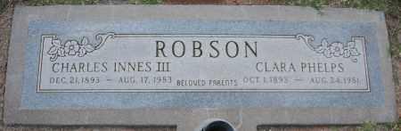 PHELPS ROBSON, CLARA - Maricopa County, Arizona | CLARA PHELPS ROBSON - Arizona Gravestone Photos