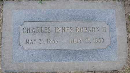 ROBSON, CHARLES INNES II - Maricopa County, Arizona   CHARLES INNES II ROBSON - Arizona Gravestone Photos