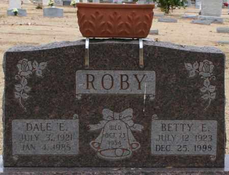 ROBY, BETTY E. - Maricopa County, Arizona | BETTY E. ROBY - Arizona Gravestone Photos
