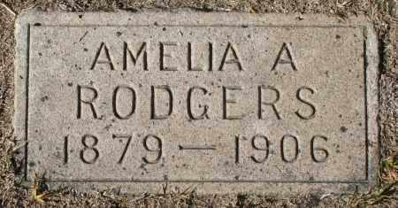 RODGERS, AMELIA A - Maricopa County, Arizona   AMELIA A RODGERS - Arizona Gravestone Photos