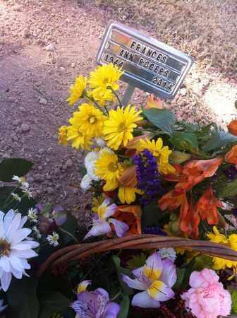 GRIFFITH ROGERS, FRANCES ANN - Maricopa County, Arizona | FRANCES ANN GRIFFITH ROGERS - Arizona Gravestone Photos