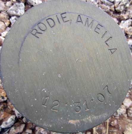 RODIE, AMEILA - Maricopa County, Arizona | AMEILA RODIE - Arizona Gravestone Photos