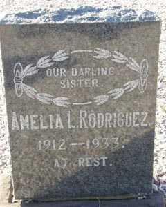 RODRIGUEZ, AMELIA L. - Maricopa County, Arizona   AMELIA L. RODRIGUEZ - Arizona Gravestone Photos