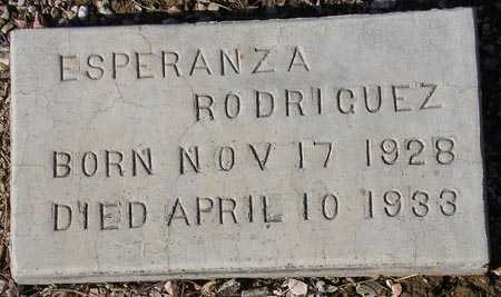 RODRIGUEZ, ESPERANZA - Maricopa County, Arizona | ESPERANZA RODRIGUEZ - Arizona Gravestone Photos