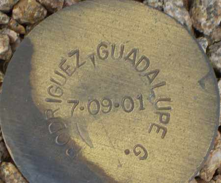 RODRIGUEZ, GUADALUPE G. - Maricopa County, Arizona | GUADALUPE G. RODRIGUEZ - Arizona Gravestone Photos