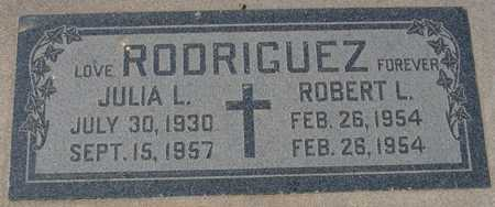 RODRIGUEZ, ROBERT L. - Maricopa County, Arizona   ROBERT L. RODRIGUEZ - Arizona Gravestone Photos