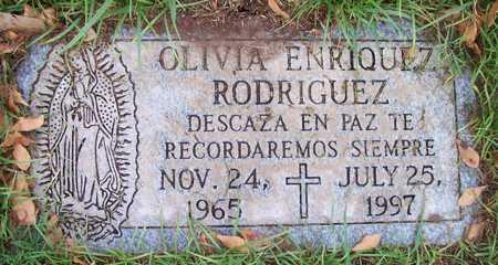 RODRIGUEZ, OLIVIA ENRIQUEZ - Maricopa County, Arizona | OLIVIA ENRIQUEZ RODRIGUEZ - Arizona Gravestone Photos