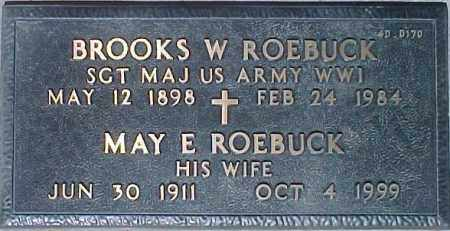 ROEBUCK, MAY E. - Maricopa County, Arizona | MAY E. ROEBUCK - Arizona Gravestone Photos