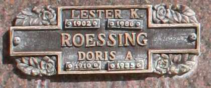 ROESSING, LESTER K - Maricopa County, Arizona | LESTER K ROESSING - Arizona Gravestone Photos