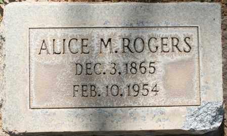 ROGERS, ALICE M. - Maricopa County, Arizona | ALICE M. ROGERS - Arizona Gravestone Photos