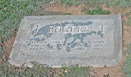 ROGERS, JEFFERSON ZABRA - Maricopa County, Arizona | JEFFERSON ZABRA ROGERS - Arizona Gravestone Photos