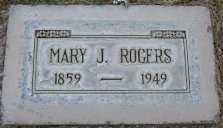ROGERS, MARY JANE - Maricopa County, Arizona | MARY JANE ROGERS - Arizona Gravestone Photos