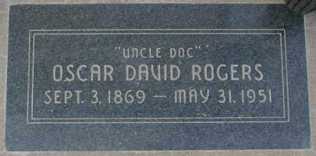 "ROGERS, OSCAR DAVID ""UNCLE DOC"" - Maricopa County, Arizona 