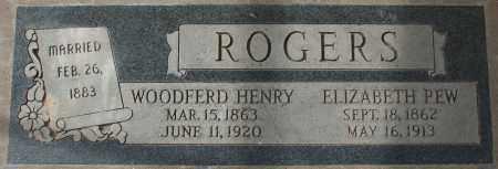 ROGERS, WOODFERD HENRY - Maricopa County, Arizona | WOODFERD HENRY ROGERS - Arizona Gravestone Photos