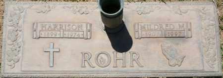 ROHR, HARRISON - Maricopa County, Arizona | HARRISON ROHR - Arizona Gravestone Photos