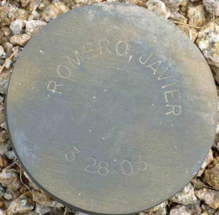 ROMERO, JAVIER - Maricopa County, Arizona   JAVIER ROMERO - Arizona Gravestone Photos