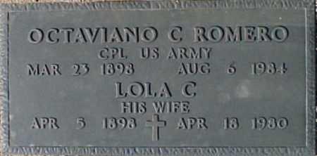 ROMERO, LOLA C. - Maricopa County, Arizona | LOLA C. ROMERO - Arizona Gravestone Photos