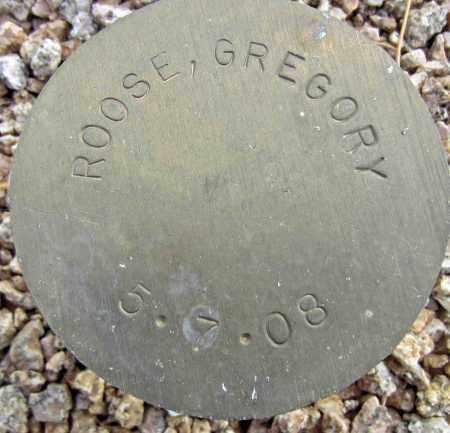 ROOSE, GREGORY - Maricopa County, Arizona | GREGORY ROOSE - Arizona Gravestone Photos