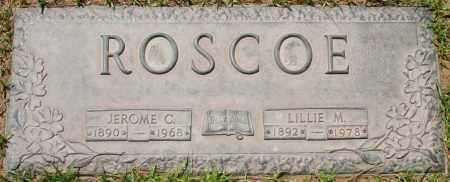 ROSCOE, LILLIE M. - Maricopa County, Arizona | LILLIE M. ROSCOE - Arizona Gravestone Photos