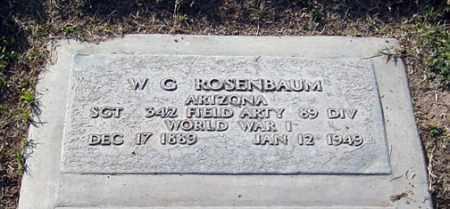 ROSENBAUM, WILLIAM GEORGE - Maricopa County, Arizona | WILLIAM GEORGE ROSENBAUM - Arizona Gravestone Photos