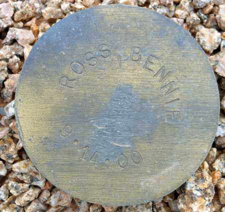 ROSS, BENNIE - Maricopa County, Arizona | BENNIE ROSS - Arizona Gravestone Photos