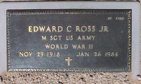 ROSS, EDWARD C., JR. - Maricopa County, Arizona | EDWARD C., JR. ROSS - Arizona Gravestone Photos