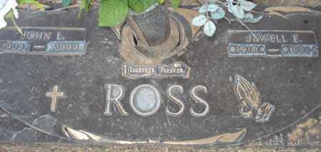 ROSS, JEWELL E. - Maricopa County, Arizona | JEWELL E. ROSS - Arizona Gravestone Photos