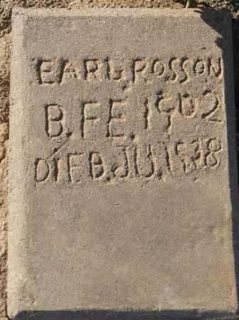 ROSSON, EARL - Maricopa County, Arizona | EARL ROSSON - Arizona Gravestone Photos