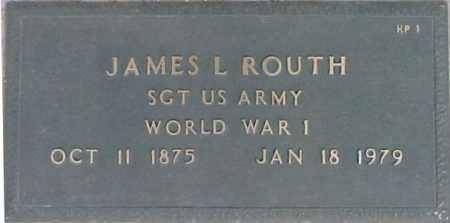 ROUTH, JAMES L. - Maricopa County, Arizona | JAMES L. ROUTH - Arizona Gravestone Photos