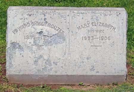 ROUZER, EDWARD OHMER - Maricopa County, Arizona | EDWARD OHMER ROUZER - Arizona Gravestone Photos
