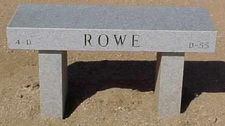 ROWE, YVONNE F. - Maricopa County, Arizona | YVONNE F. ROWE - Arizona Gravestone Photos