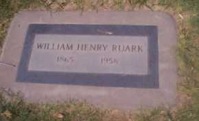 RUARK, WILLIAM HENRY - Maricopa County, Arizona | WILLIAM HENRY RUARK - Arizona Gravestone Photos