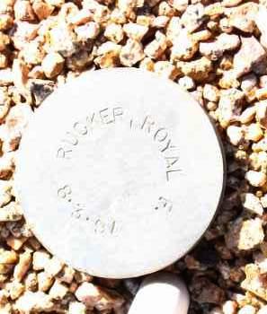 RUCKER, ROYAL F. - Maricopa County, Arizona | ROYAL F. RUCKER - Arizona Gravestone Photos