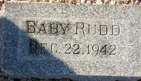 RUDD, BABY - Maricopa County, Arizona | BABY RUDD - Arizona Gravestone Photos