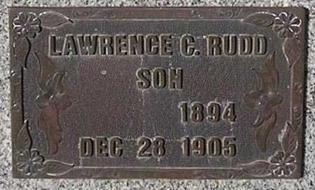RUDD, LAWRENCE C. - Maricopa County, Arizona   LAWRENCE C. RUDD - Arizona Gravestone Photos