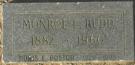 RUDD, MONROE C. - Maricopa County, Arizona | MONROE C. RUDD - Arizona Gravestone Photos
