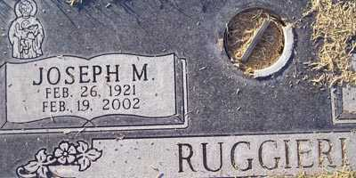 RUGGIERI, JOSEPH M. - Maricopa County, Arizona | JOSEPH M. RUGGIERI - Arizona Gravestone Photos