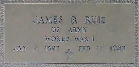 RUIZ, JAMES R - Maricopa County, Arizona   JAMES R RUIZ - Arizona Gravestone Photos