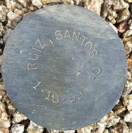 RUIZ, SANTOS O. - Maricopa County, Arizona | SANTOS O. RUIZ - Arizona Gravestone Photos
