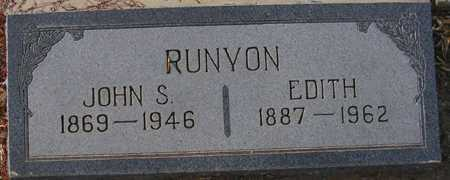 RUNYON, EDITH - Maricopa County, Arizona | EDITH RUNYON - Arizona Gravestone Photos