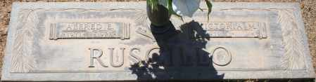 RUSCILLO, ALFRED E. - Maricopa County, Arizona | ALFRED E. RUSCILLO - Arizona Gravestone Photos